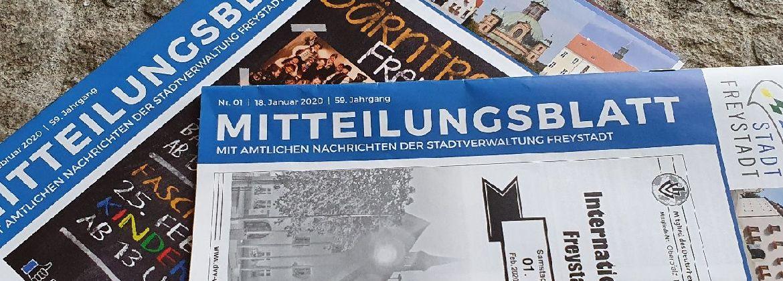 Aktuelles Mitteilungsblatt lesen