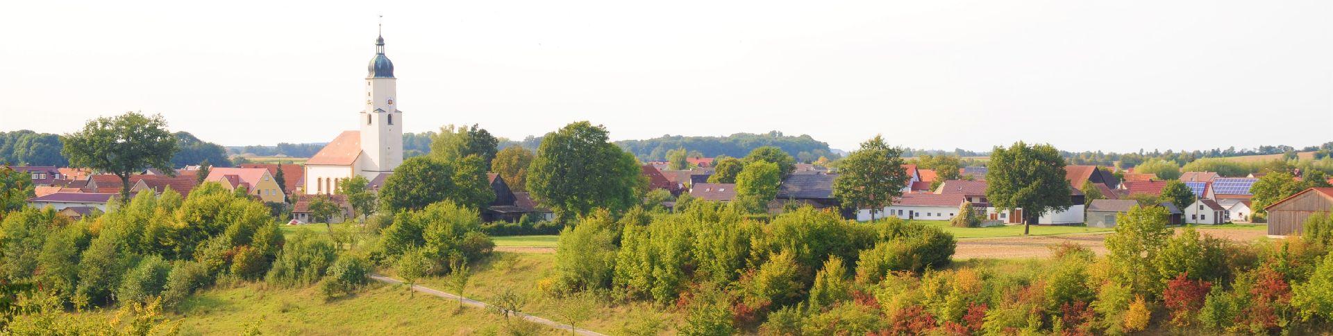 Über den Röschberg in die Segelau - Wanderwege um Freystadt