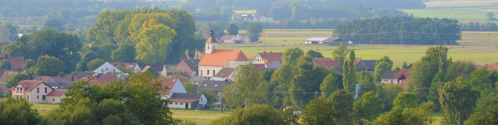 Burggriesbacher Runde - tolle Wanderwege im Gemeindegebiet Freystadt.