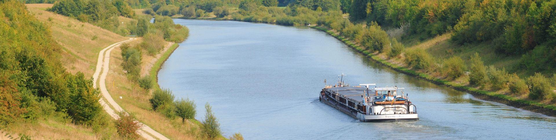 Kanalerlebnis mit Weitblick - tolle Wanderwege im Gemeindegebiet Freystadt.